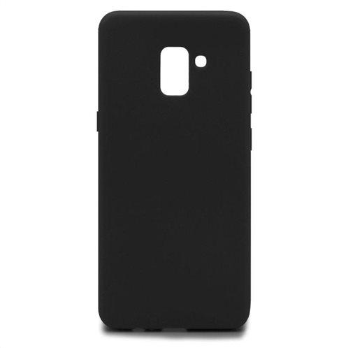 Soft TPU inos Samsung A730F Galaxy A8 Plus (2018) S-Cover Black