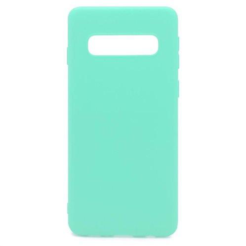 Soft TPU inos Samsung G975F Galaxy S10 Plus S-Cover Mint-Green