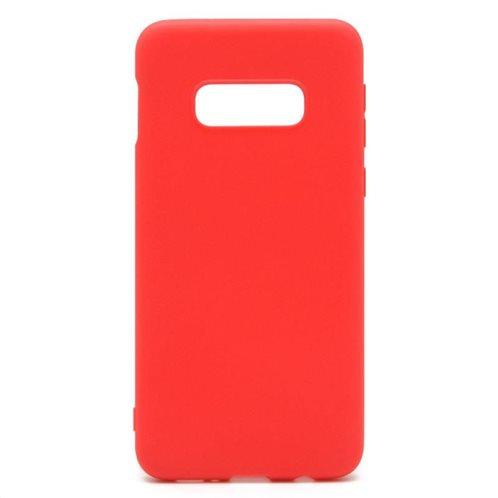 Soft TPU inos Samsung G970F Galaxy S10e S-Cover Red