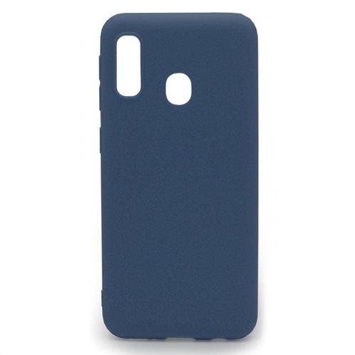 Soft TPU inos Samsung A202F Galaxy A20e S-Cover Blue