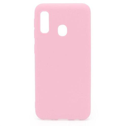 Soft TPU inos Samsung A202F Galaxy A20e S-Cover Pink