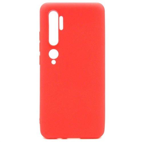 Soft TPU inos Xiaomi Mi Note 10 S-Cover Red