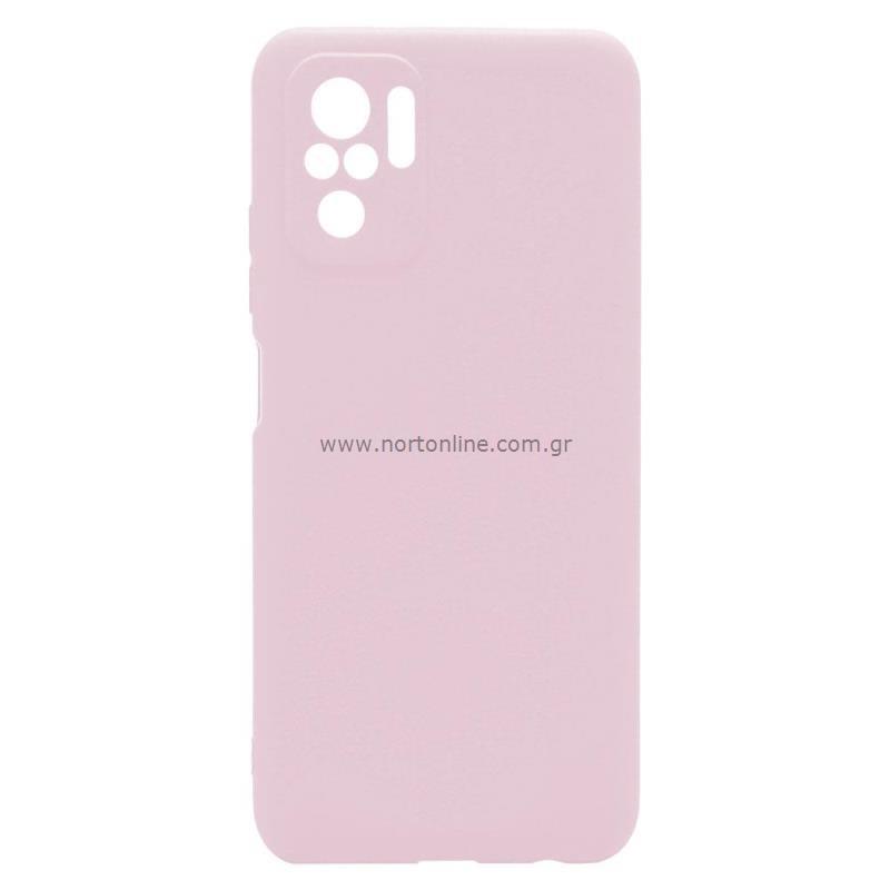 Θήκη Soft TPU inos Xiaomi Redmi Note 10 S-Cover Dusty Ροζ