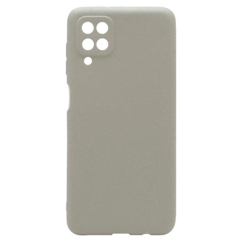 Θήκη Soft TPU inos Samsung A125F Galaxy A12 S-Cover Γκρι