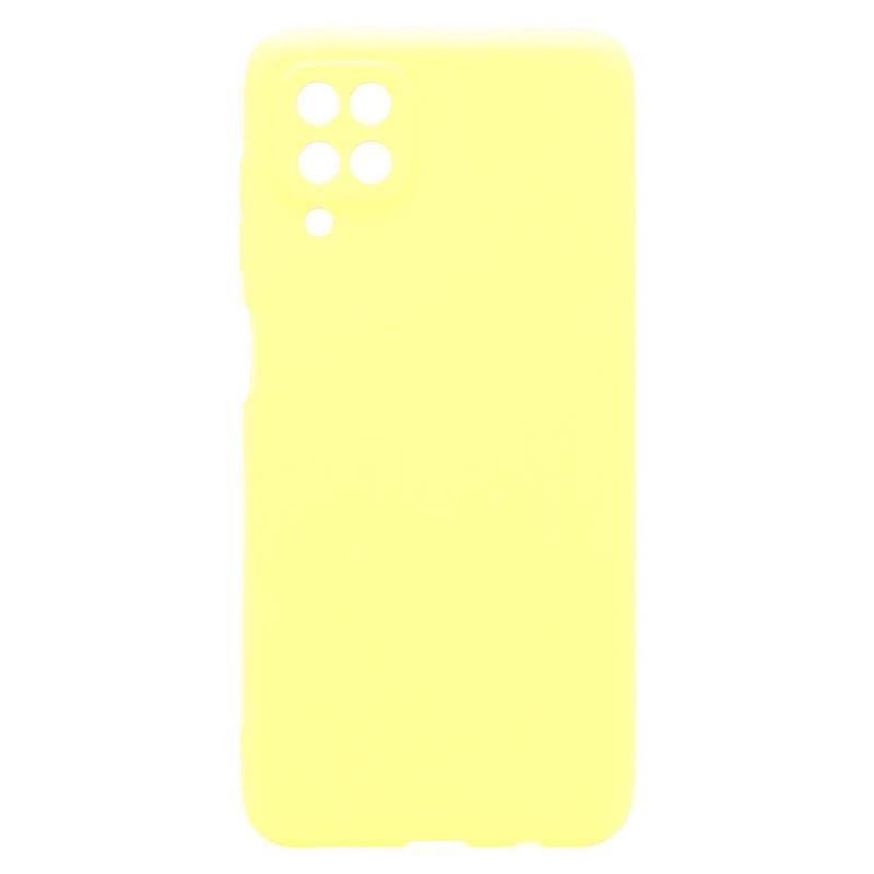 Θήκη Soft TPU inos Samsung A125F Galaxy A12 S-Cover Κίτρινο