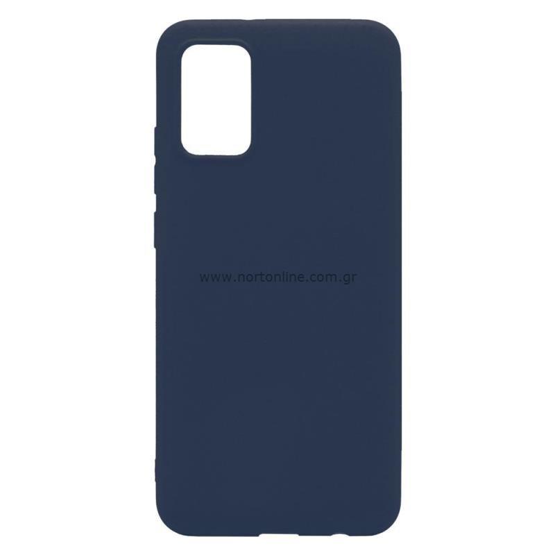 Θήκη Soft TPU inos Samsung A025F Galaxy A02s S-Cover Μπλε