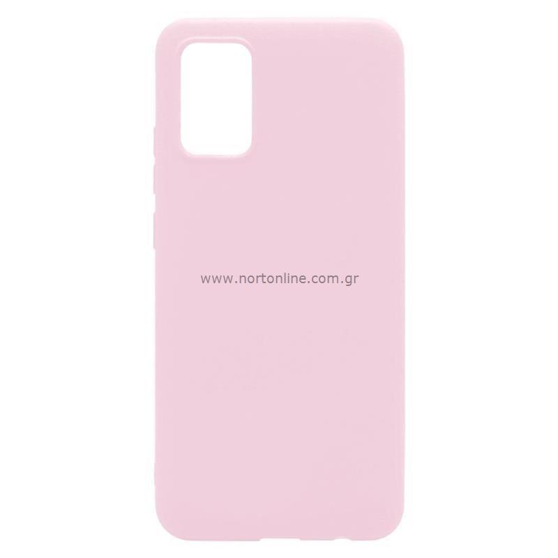 Θήκη Soft TPU inos Samsung A025F Galaxy A02s S-Cover Dusty Ροζ