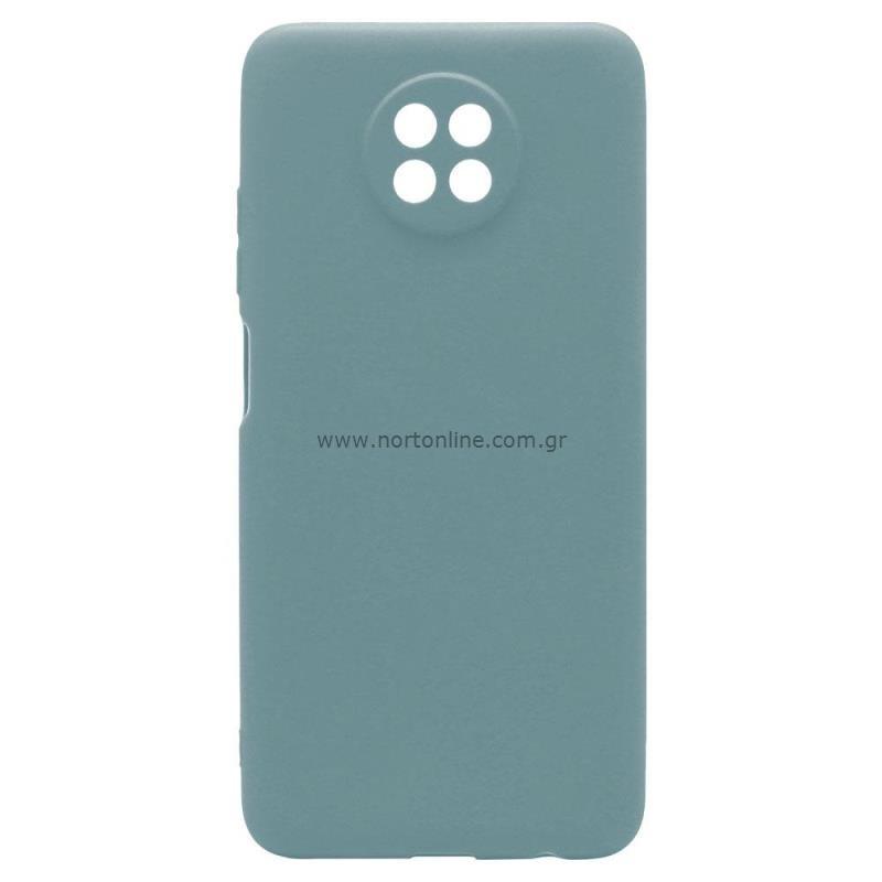 Θήκη Soft TPU inos Xiaomi Redmi Note 9T S-Cover Πετρόλ