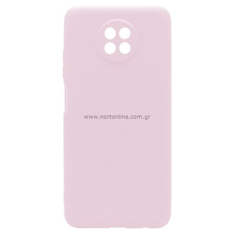 Θήκη Soft TPU inos Xiaomi Redmi Note 9T S-Cover Dusty Ροζ