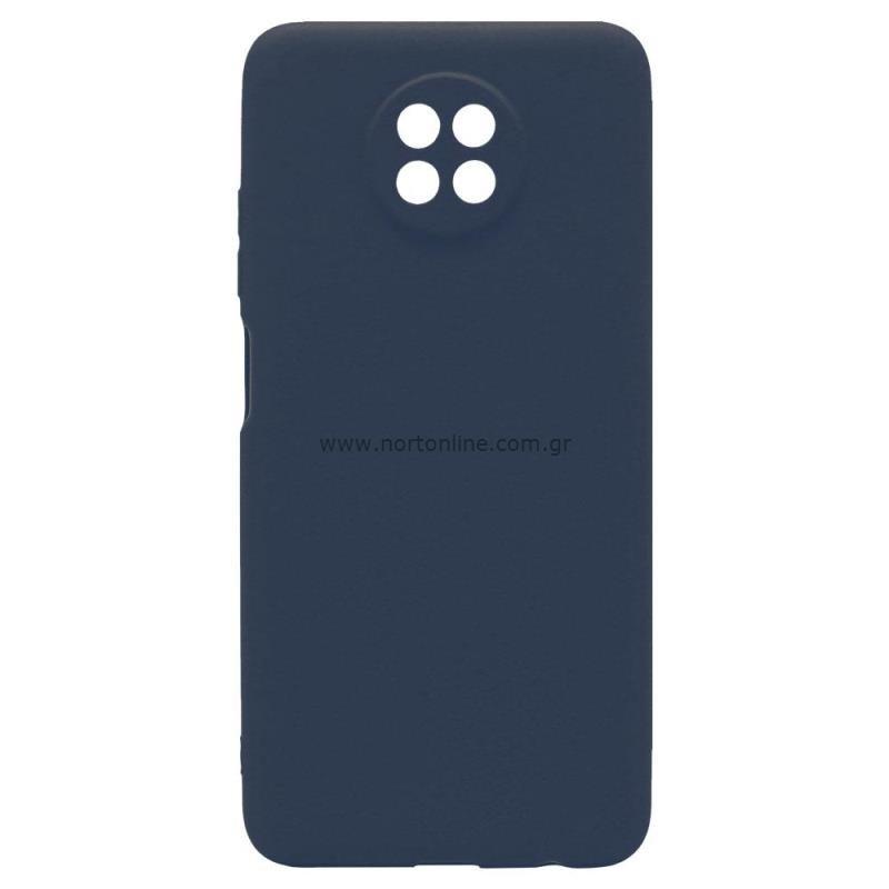 Θήκη Soft TPU inos Xiaomi Redmi Note 9T S-Cover Μπλε
