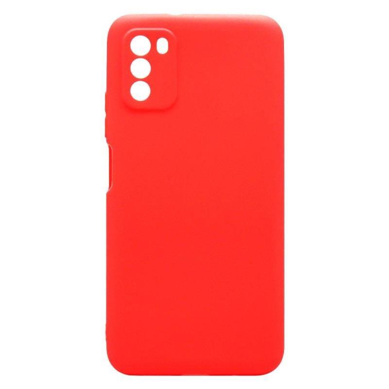Θήκη Soft TPU inos Xiaomi Poco M3 S-Cover Κόκκινο