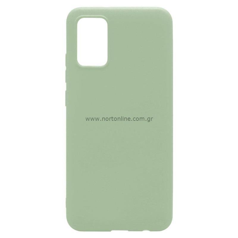 Θήκη Soft TPU inos Samsung A025F Galaxy A02s S-Cover Λαδί