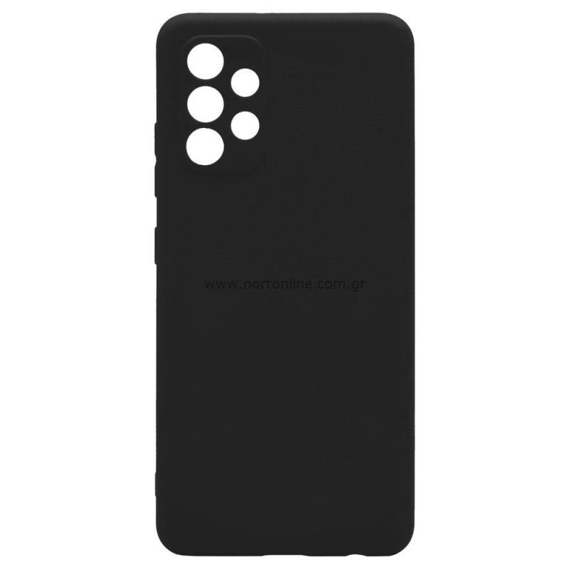 Θήκη Soft TPU inos Samsung A325F Galaxy A32 4G S-Cover Μαύρο