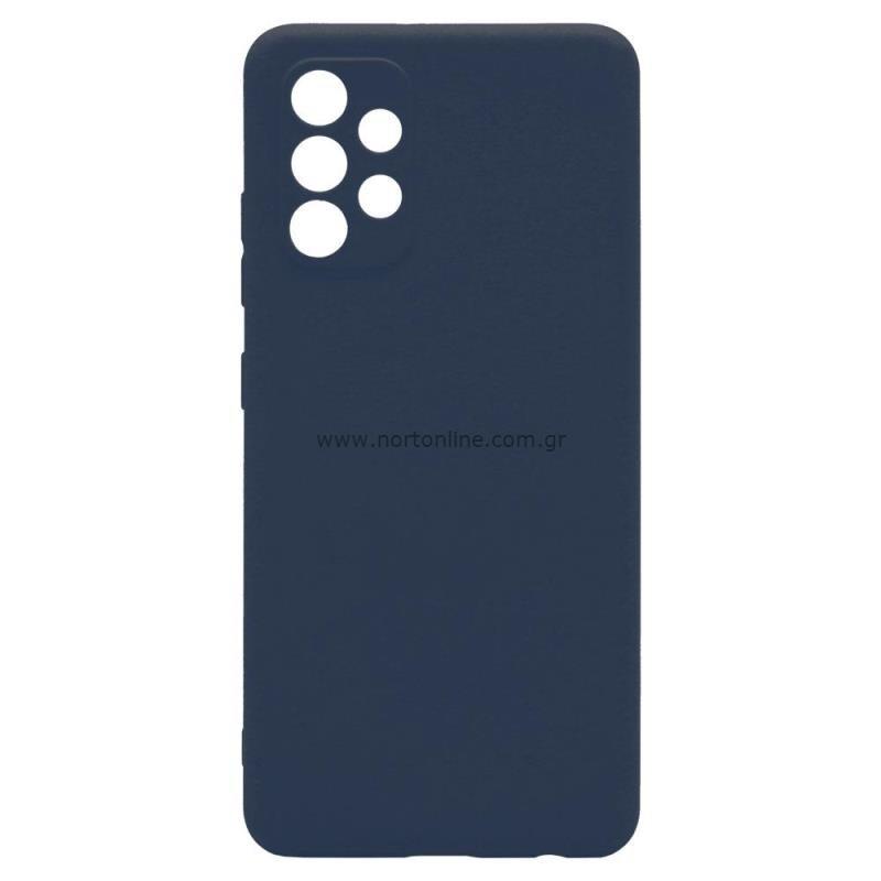 Θήκη Soft TPU inos Samsung A325F Galaxy A32 4G S-Cover Μπλε