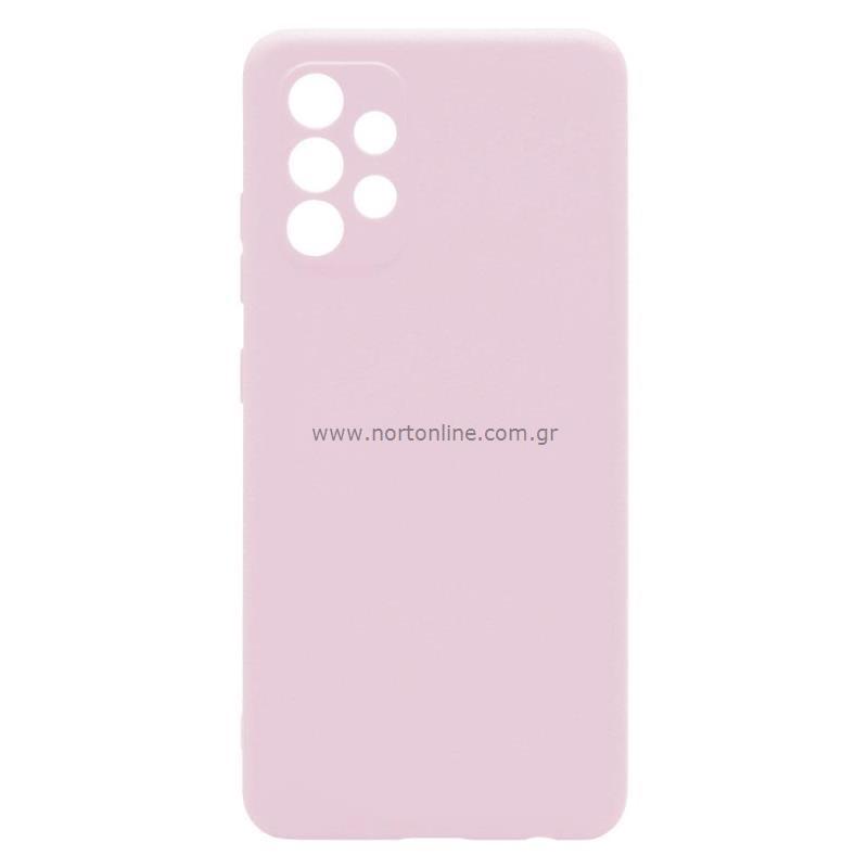 Θήκη Soft TPU inos Samsung A325F Galaxy A32 4G S-Cover Dusty Ροζ