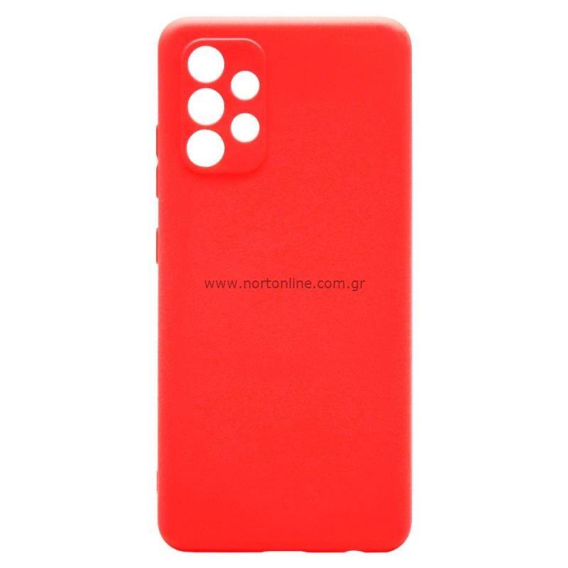 Θήκη Soft TPU inos Samsung A325F Galaxy A32 4G S-Cover Κόκκινο
