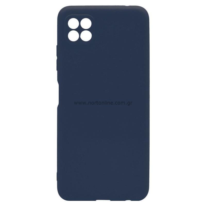 Θήκη Soft TPU inos Samsung A226B Galaxy A22 5G S-Cover Μπλε