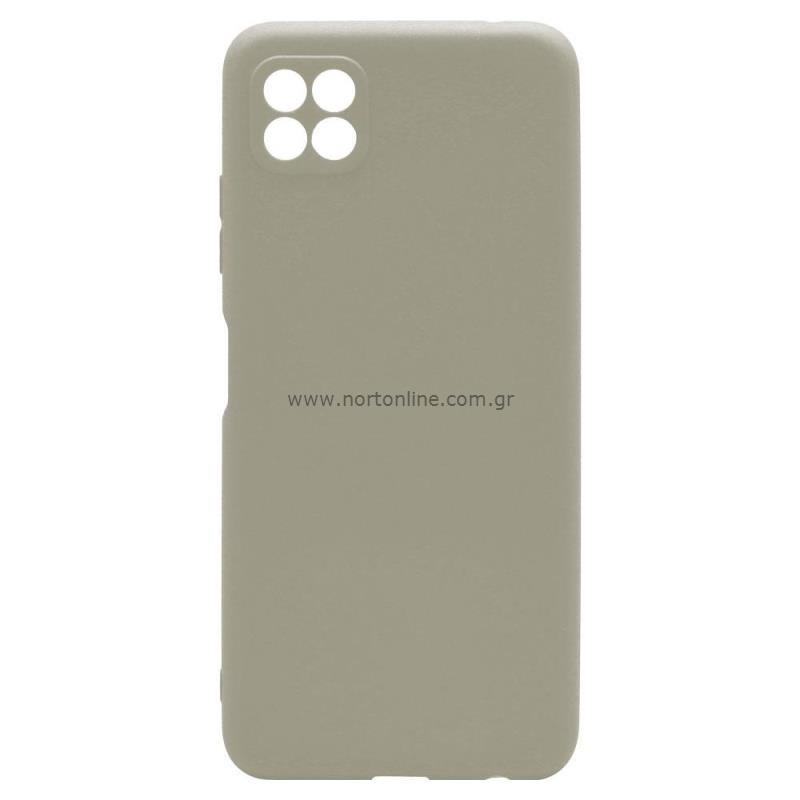 Θήκη Soft TPU inos Samsung A226B Galaxy A22 5G S-Cover Γκρι