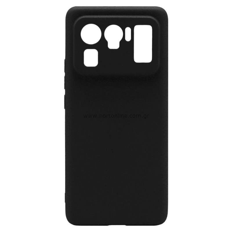 Θήκη Soft TPU inos Xiaomi Mi 11 Ultra S-Cover Μαύρο