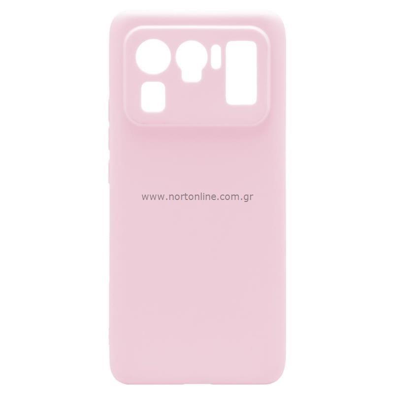 Θήκη Soft TPU inos Xiaomi Mi 11 Ultra S-Cover Dusty Ροζ