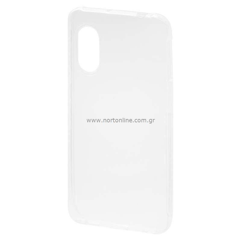Θήκη TPU inos Samsung G525F Galaxy Xcover 5 Ultra Slim 0.3mm Διάφανο