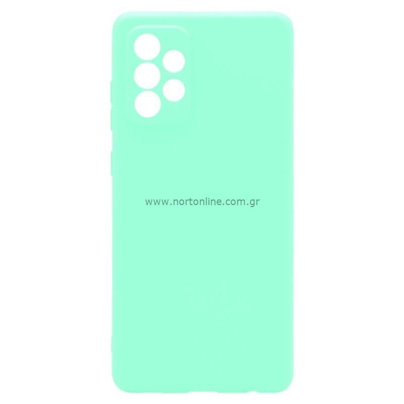 Θήκη Soft TPU inos Samsung A725F Galaxy A72 4G/ A726B Galaxy A72 5G S-Cover Φυστικί