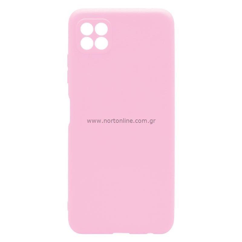 Θήκη Soft TPU inos Samsung A226B Galaxy A22 5G S-Cover Ροζ