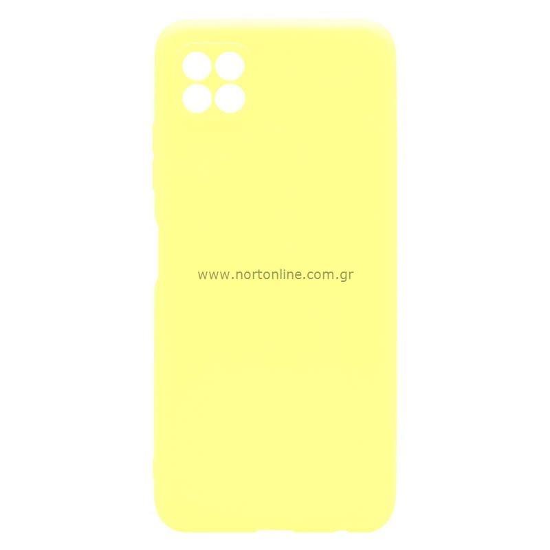 Θήκη Soft TPU inos Samsung A226B Galaxy A22 5G S-Cover Κίτρινο