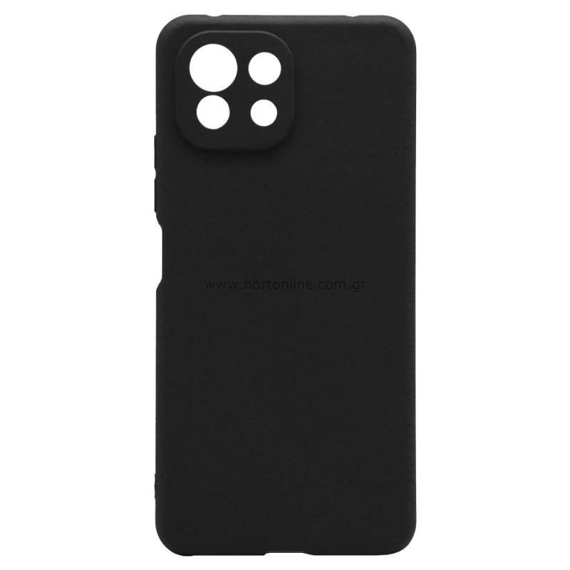 Θήκη Soft TPU inos Xiaomi Mi 11 Lite/ Mi 11 Lite 5G S-Cover Μαύρο
