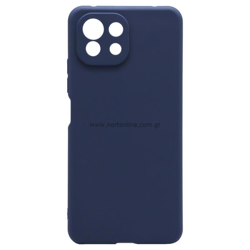 Θήκη Soft TPU inos Xiaomi Mi 11 Lite/ Mi 11 Lite 5G S-Cover Μπλε