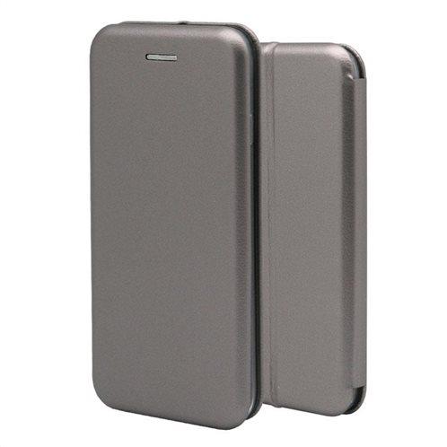 Θήκη Flip Book inos Huawei P30 Curved M-Folio Σκούρο Γκρι