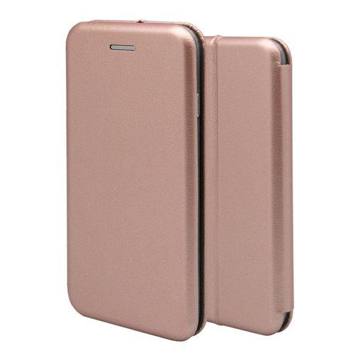 Θήκη Flip Book inos Huawei P30 Lite Curved M-Folio Ροζ-Χρυσό