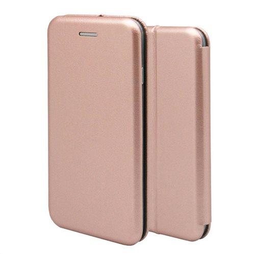 Θήκη Flip Book inos Samsung G970F Galaxy S10e Curved M-Folio Ροζ-Χρυσό