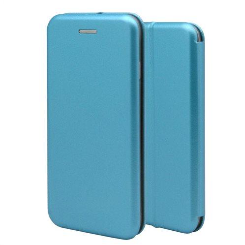 Θήκη Flip Book inos Huawei Mate 20 Lite Curved M-Folio Γαλάζιο