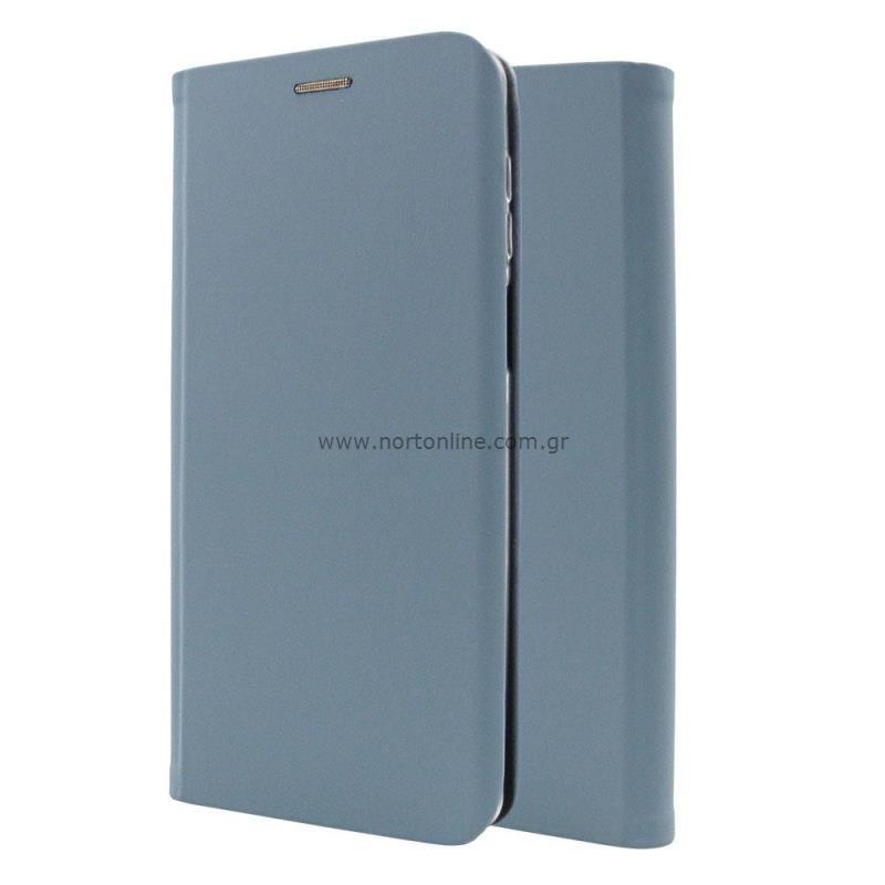 Θήκη Flip Book inos Samsung A325F Galaxy A32 4G Curved S-Folio Παστέλ Μπλε