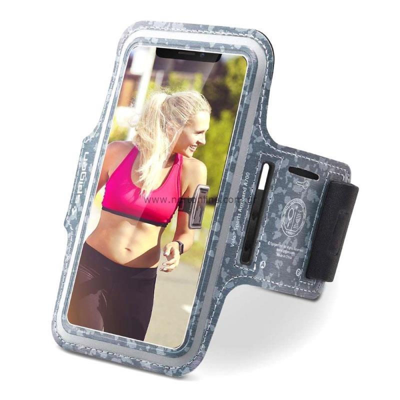 Θήκη Armband Spigen A700 Sport για Smartphones (έως 6.9'') Γκρι