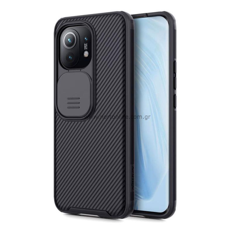 Θήκη Soft TPU & PC Nillkin Camshield Pro Xiaomi Mi 11 Μαύρο