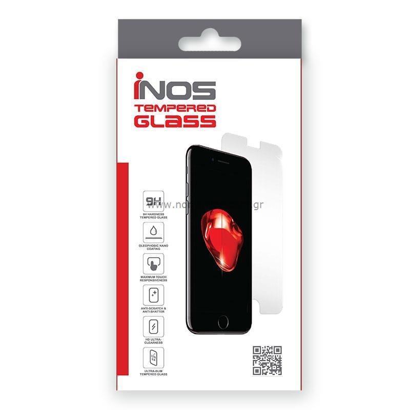 Tempered Glass Full Face inos 0.33mm Apple iPhone 13 mini 3D Μαύρο