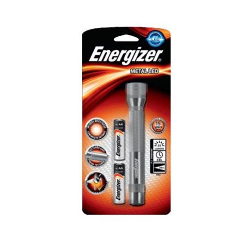 Φακός Energizer LP31451 F081068 Μεταλλικός 2ΑΑ