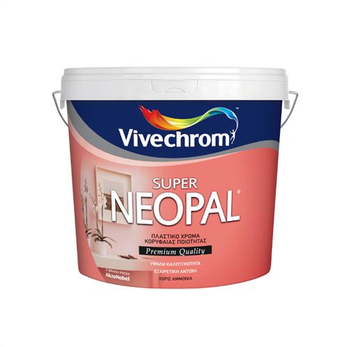 ΠΛΑΣΤΙΚΟ ΧΡΩΜΑ VIVECHROM SUPER NEOPAL 10 + 1LT