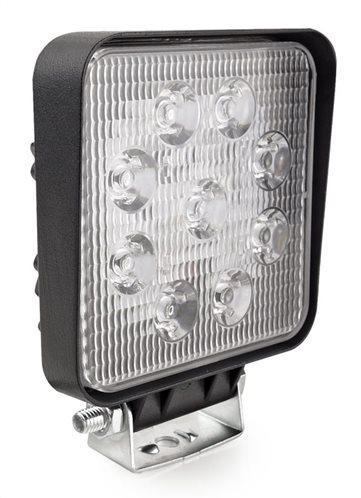 LED προβολέας οχημάτων AWL07 02421 9x LED 10.5 x 10.5cm μαύρος