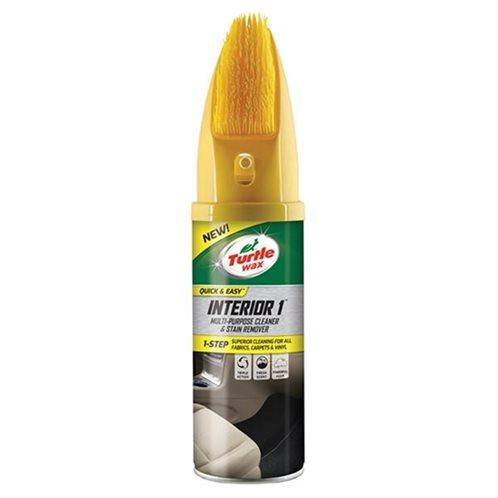 Turtle Wax Καθαριστικό ταπετσαρίας INTERIOR 1 FG7629 aerosol with brush 400ml