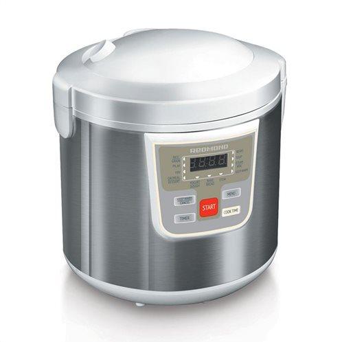 Πολυμάγειρας REDMOND RMC-M30E 900W Ασημί-Λευκό