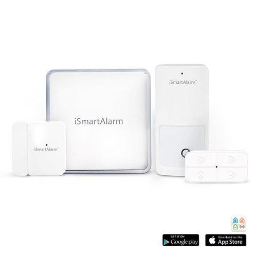 iSmartAlarm Home Security System ISA1G Starter Pack
