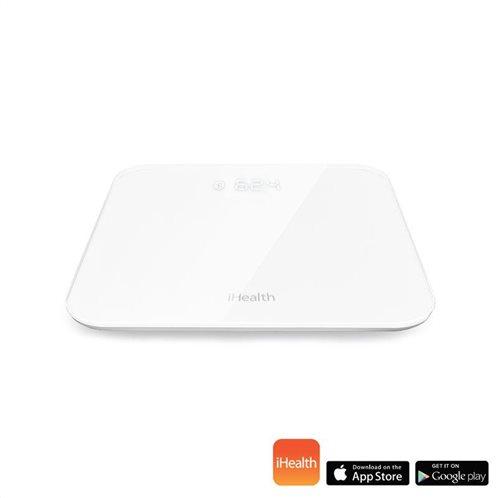 iHealth Ψηφιακή Ζυγαριά με Λιπομετρητή & Bluetooth Lina HS2 Λευκή 180kg