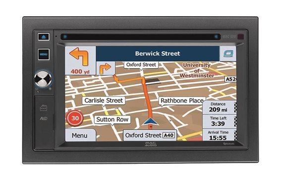 Mac Audio Multimedia Οθόνη Αυτοκινήτου 2DIN MAC 620 - Radio/USB/CD/DVD/GPS
