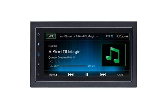 Mac Audio Multimedia Οθόνη Αυτοκινήτου 2DIN MAC 520 DAB - Radio/DAB+/USB/CD/DVD/GPS