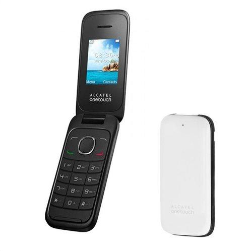 Alcatel 1035D (Dual SIM) Feature Phone Σκούρο Καφέ