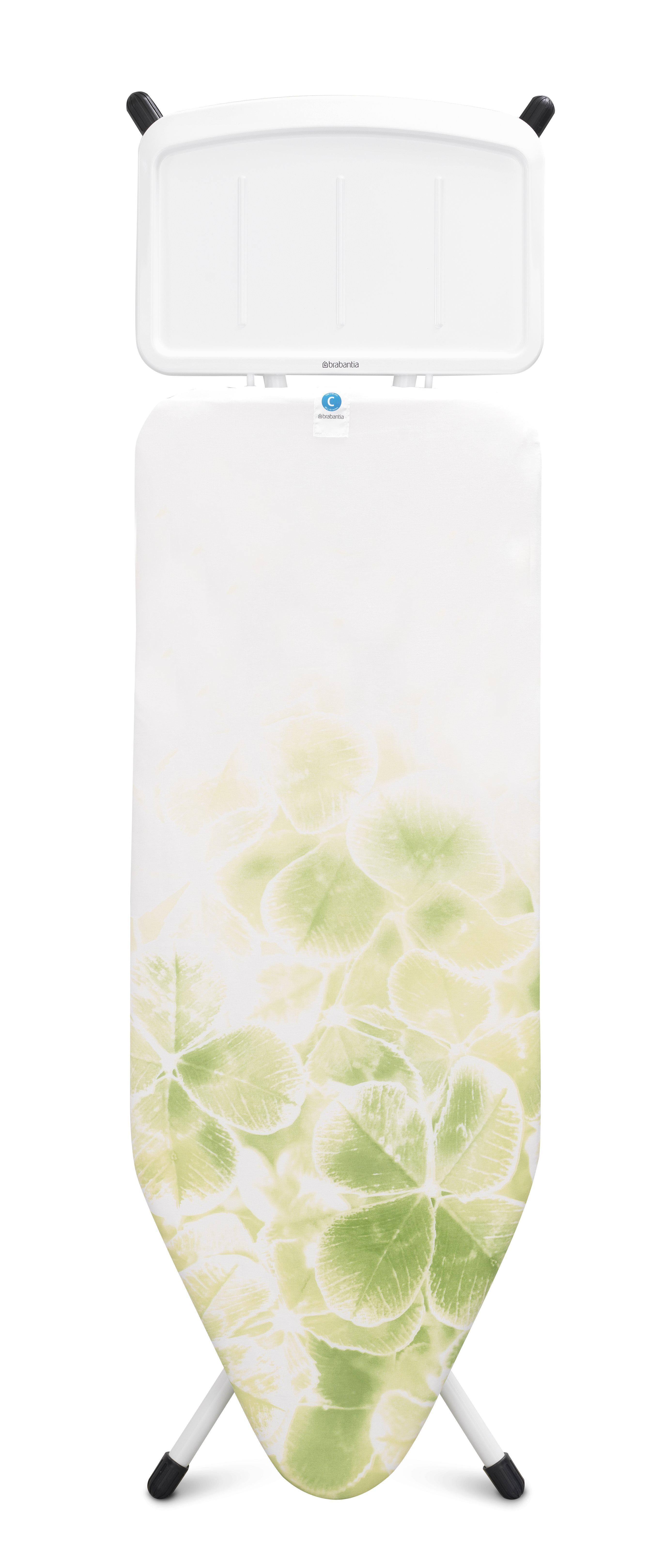 BRABANTIA Σιδερώστρα Leaf Clover 124x45cm με Βάση για Ατμοσύστημα - 080.1114/26