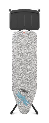 BRABANTIA Σιδερώστρα Barley 124x38cm με Βάση για Ατμοσύστημα - 080.1310/80